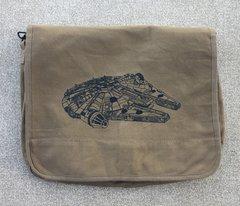Millennium Falcon Embroidered Messenger Bag