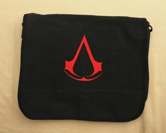 Assassin's Creed Embroidered Messenger Bag (Black)