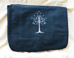 Tree of Gondor Lord of the Rings Embroidered Messenger Bag