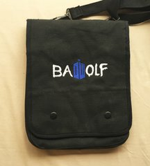 Doctor Who Bad Wolf Embroidered Tablet Bag
