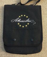 Hamilton Signature Embroidered Tablet Bag