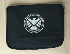 SHIELD Embroidered Messenger Bag