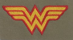 Wonder Woman Embroidered Symbol