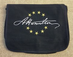 Hamilton Signature Embroidered Messenger Bag