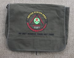Zombie Response Embroidered Messenger Bag