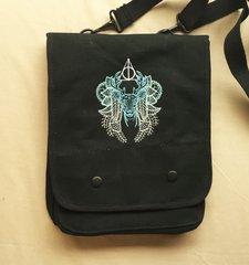 Harry Potter Stag Patronus Embroidered Tablet Bag