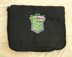 Slytherin Harry Potter Embroidered Messenger Bag
