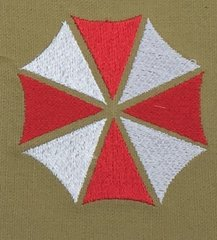 Umbrella Corporation Embroidered Symbol