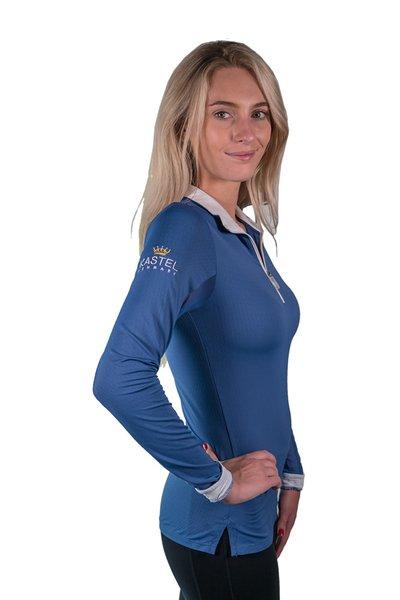Kastel Denmark Charlotte Long Sleeve Zip Front Shirt ...