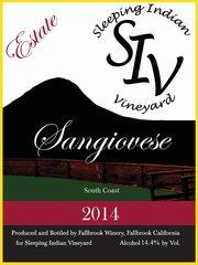 2014 Estate Sangiovese