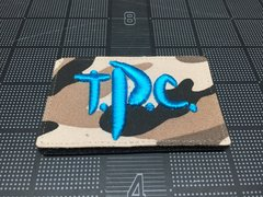 Toyota Patch Club (TPC) Logo Patch, Trail Toys Blue
