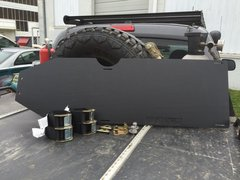 UHMW Gas Tank Skid Plates - 2005+ Tacoma DCSB and Access Cab