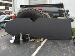 UHMW Gas Tank Skid Plates - 2005+ Tacoma DCLB