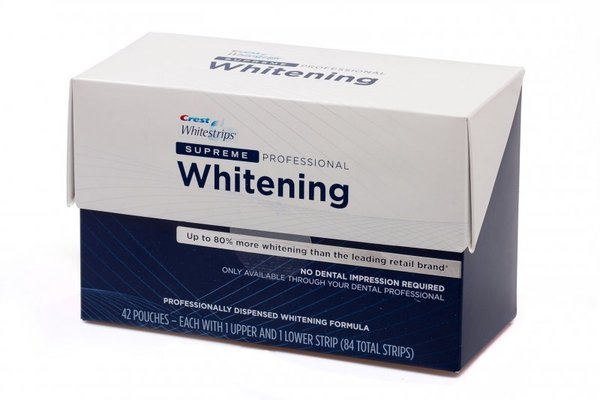 crest supreme professional whitening strips instructions