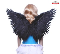 Angel of Fantasy, Medium2, Black feather wings