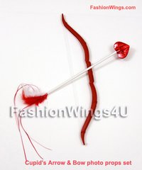 Cupid's Arrow & Bow Photo Props Set