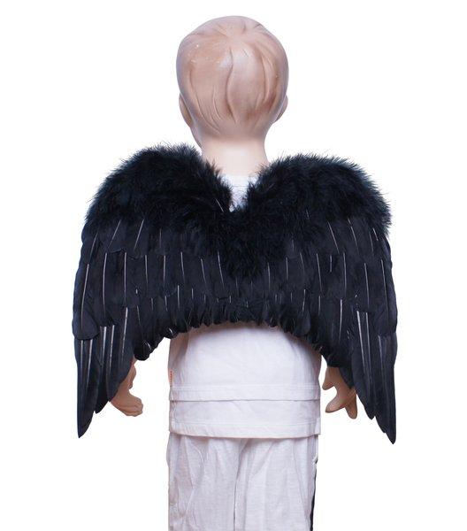 Angel of Hope, M2, Black feather wings