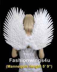 Angel of Comfort, Large, White feather wings (Duo Use pointing up or down)