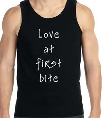Men's Love at first bite tank