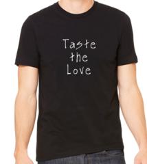 Unisex t-shirt Taste the love