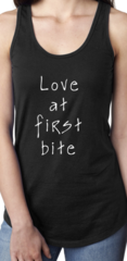 Women's Love at first bite tank