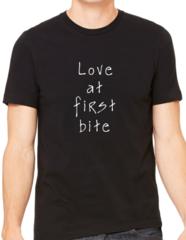 Unisex t-shirt Love at first bite