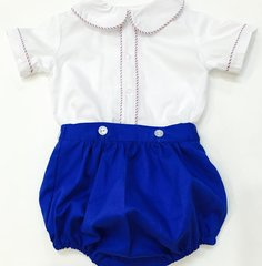 18mth Jack outfit button on bloomers 2pc set