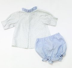 12mth 2pc Annabell Top and Girl Bloomers 2pc Set