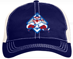 Ice Hawks Vintage Trucker Mesh Hat