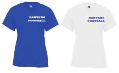 DHS Football Ladies SS V-Neck Shirt