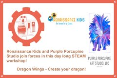 Dragon Wings - Art and Science - Full Day Workshop