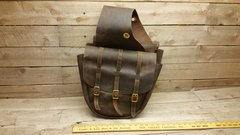 Authentic leather Messenger, Book, Laptop Shoulder Bag Brown in color-I-3