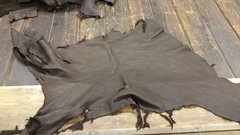 elk leather chocolate color- S-330
