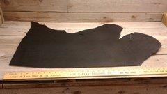 Black Harness Leather (single head) Cow Hide 10 -12 oz-J6-24