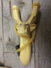 Children's Wooden Animal Slingshots