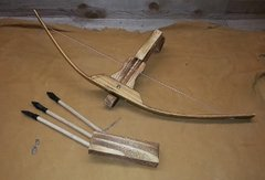 "21"" long childrens Wooden Crossbow"