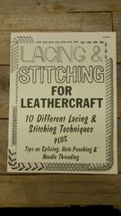 Lacing & Stitching For Leathercraft Book