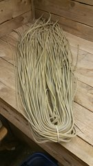 4 ft shoe lace 1/8 wide blonde