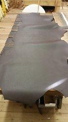 dark brown case / bag leather s-421