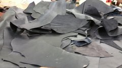 leather scraps in a 4-5 oz. weight (nice big piece's) Black B-1