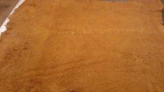 Buckskin colored finished suede/split leather-J4-15