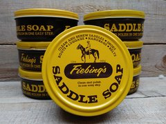 Fiebing's Saddle Soap- Yellow- 12 oz - Clean and Polish- N-13