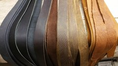 "top grain oil tanned~Leather strip / straps 1/8~1/4~3/8~1/2~5/8~3/4~ 1"" wide A-100"