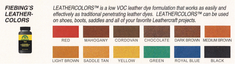 Leather Colors/ Water Based DYE