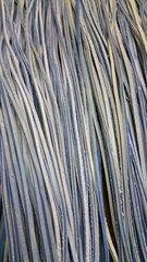 4 ft shoe lace 1/8 wide 2 tone blue