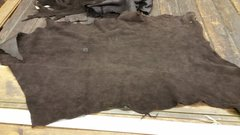 elk leather chocolate color- S-331