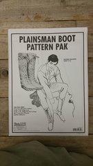 Plainsman Boot Pattern Pack