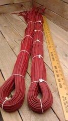 Red baseball lace leather -E9-39