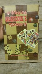 old die and card game of the past (playing grandmas games)