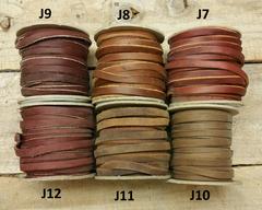 Premium grade oil leather lace